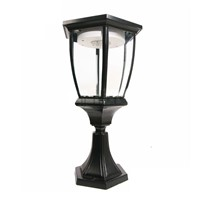 Large Villa LED Solar Powered Outdoor Garden Lamps Pathway Solar Lights Lawn Lamp Casting Aluminum Glass LED Yard Solar Lights