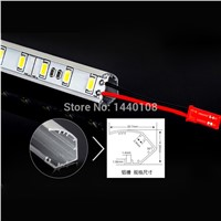 100cm Led Bar Light 10w Led hard Strips Light Warm Pure Cool White 72Leds M SMD 5630 LED Tube Hard LED Strips 30pcs/lot