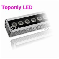 High Quality 36pcs 1w Cree XPE led flooding light IP65 DC24v 1m led projection lighting R/G/B/W/Y/RGB colors led wall washers