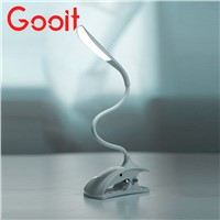 Flexible Touch Sensor Clip-On LED Light Laptop/Desk Study Reading Lamp