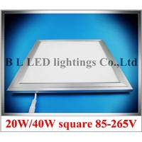 ultra thin square LED ceiling panel light lamp LED flat light SMD2835/SMD4014    295mmX295mm 20W / 595mmX595mm 40W     AC85-265V