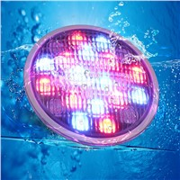 Stock in China 72W RGB Stainless LED Swimming Pool Pond Led Par56 Lamp AC12V Waterproof IP68 with CE FCC&ROHS
