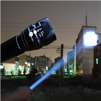 LED Flashlight Lanterna de led linternas Torch 2000LM lanterna tatica Torch Zoomable flashlight Torch light bike Light camping