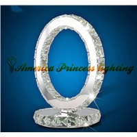 Glaucoma / amber lamp decorated double election bedside lamp table lamp crystal table lamp, AC220V
