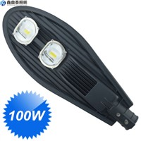 100W Led Street Light Built-in Led Driver housing Aluminum Street Lighting Lamp 2 COB LED Chip Street Lights