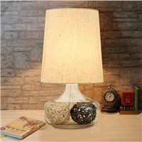 brief fashion rustic table lamp bedside cabinet table lamp