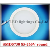 recessed downlight ceiling LED panel light glass covered style round LED down light new style round shape indoor LED downlight
