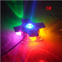 Led cross star light 4W12W waterproof outdoor wall decoration wall lighting landscape lighting lamp