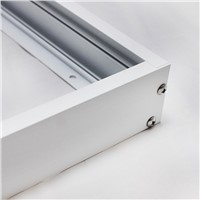 No cut ceiling!Aluminum Surface mounted metal structure frame for led panel 300*300 300*600 600*600 300*1200 mm Without lamp