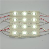 New 160 Degree Wide Beam angle with Lens 3 SMD 5050 LED Module  for  Advertising sign and Channel Letter  IP65 0.72W DC12V