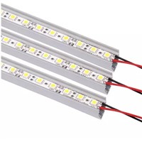 20pcs/lot 1M LED Bar Light Lamp  5050 SMD 72 LED Rigid Bar Strip Canbinet Light
