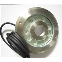IP68 4pcs/lot 304 stainless steel 24V 27W RGB fountain LED Light Color Changing Underwater Ring LED white pond pool led