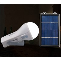 Solar Home Camping Light, Solar Panel Powered Garden Yard Light Landscape Working Study Night Emergency Lamp