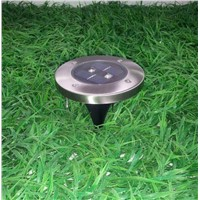 IP65 LED Underground Light 2LED Outdoor Lighting Solar Power LED Step Deck Light Solar LED Floor Lamps Garden Lawn Lights
