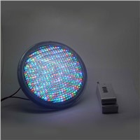 15w Par56 RGB swimming pool underwater LED light lamps bulb remote controller