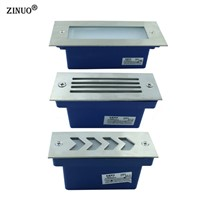 ZINUO  3W Pathway Light AC85-265V Outdoor Waterproof High Power Ground Light  Emergency Light Lamp For Garden Stairs