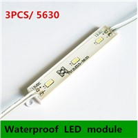 100PCS  SMD 5630 waterproof LED module for channel letter and advertising LED sign 3 LED
