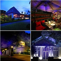 New Red Blue Laser Outdoor / Indoor Projector Lights Landscape Garden Home Party Xmas Lighting GO-100RB