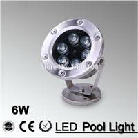 2pcs/lot  9W LED Fountain lamp Stainless steel IP68 Safety AC12V 24v  Swimming Pool/Ponds/Fountain colorful decorative lighting