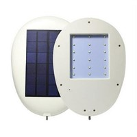 New arrival ray control 18LED 4000MA Solar Powered Panel LED Street Light Solar Sensor Lighting Outdoor Path Wall Emergency Lamp