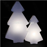 Rechargeable glowing Led Christmas lightree lamp of mountain pine tree light for Christmas& Exhibition Decoration