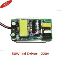 freeshipping  Driver adaptor power supply for 50W led high power led light lamp 85~265V to 30~36V