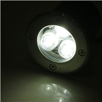 3W LED Waterproof Outdoor In Ground Garden Path Flood Landscape Light DC 12V Worldwide store