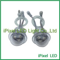 26mm Diameter LED pixel ball,with 3pin waterproof male & female connectors