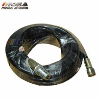 32M long Co2 jet Hose/tube Co2 jet machine accessory high pressure Resin hose with quick connector