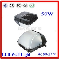 LED 50W Wall Pack Light,Lighting Facts and DLC-Qualified,250-300W HPS/HID Replacement, 6000K,Waterproof and Outdoor Rated,UL