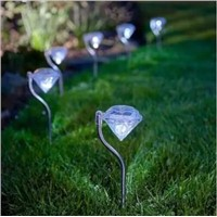 Stainless Steel Solar Lawn Light for Garden Decoration 100% Solar Power Outdoor Lighting Landscape Path Spot LED Solar Lamp