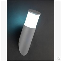 Silver Modern Simple Outdoor LED Wall Lamp For Courtyard Porch Light Buiten Verlichting Outdoor Lighting