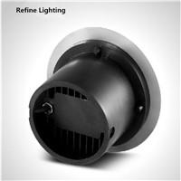 LED Underground Light round 9W AC85-265V Outdoor Step Lights Stainless Steel LED Exterieur Encastrable Garden LED Outdoor Floor