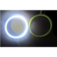 1pcs Waterproof Emergency LED Car Aperture 60mm/80mm/90mm/100mm LED SMD COB Chip Car Led Headlight Angel Eyes Warning Light