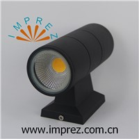 Good sale COB 10W led wall lamp AC85-265V Up and down 10W wall lights for outdoor IP65 wall lighting 90*260mm