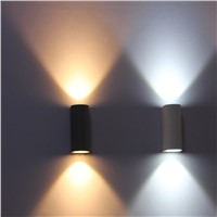 Outdoor wall lmap, IP65 Waterproof Outdoor wall lighting,Led wall light, balcony led wall lamp 6W
