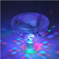 LED Underwater Fountain Light Show Swimming Pool Disco Party Float Spa Bath Pond Lights Waterproof Color Changing Glowing Lamp
