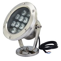 IP68 waterproof rgb led underwater light swimming pool fountain aquarium fish tank pond lamp