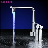 High Quality 3 Color LED Light Change Faucet Shower Water Tap Temperature Sensor