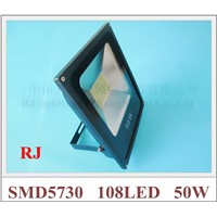 SMD 5730 LED flood light floodlight spot light lamp outdoor 50W SMD5730 108LED (108*0.5W) AC85V-265V waterproof IP65 CE
