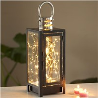 Creative LED night lamp, bedside lamp, lamp switch with stars