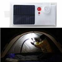 Outdoor foldable Inflatable Air Bag LED Solar Lantern Lamp Light Emergency Solar  Camping Hiking Travelling Fishing Lighting