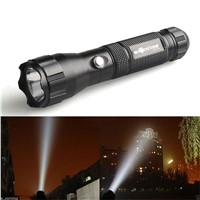 Outdoor Lighting Portable Torch Flash Lamp LED Flashlights 4000 Lumens Wolf Flashlight Lamp TacticalTorch 3 Modes XML T6 LED