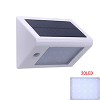 Outdoor LED Light Solar Powered Night Light Wall Mounted Sconces Lamp for Wall Patio Deck Yard Garden Home Driveway Stairs Porch