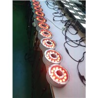 Decorative outdoor Fountain 3IN1 RGB 12x3W Ring LED Underwater Light