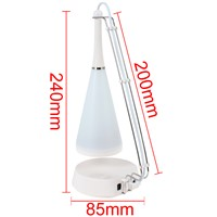 Touch Sensor Switch Creative LED Desk Lamp / Table Lighting Touch LED Light with Mini Speaker Function