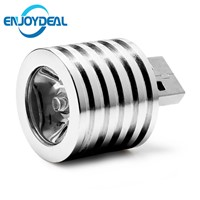 NEW Hot Sale 5V 2W Portable Mini USB LED Spotlight Lamp bulb Mobile Power Flashlight headlight White Light USB Connector