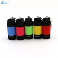 5 Colors Flashlight Ultra Bright Mini USB Rechargeable Led Light Lighting Lamp Flashlight Torch Keychain LED Light