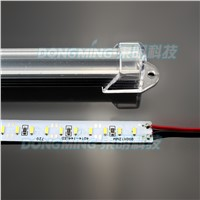 5m Factory price 5 * 100cm 144leds/m 4014 hard luces led strip light  DC12V led strip bar light + U aluminium shell + cover free
