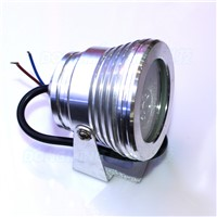 AC 85-265V 3W underwater led lights rgb ip68 waterproof rgb led pool lights pond lights plane lens auto color changing